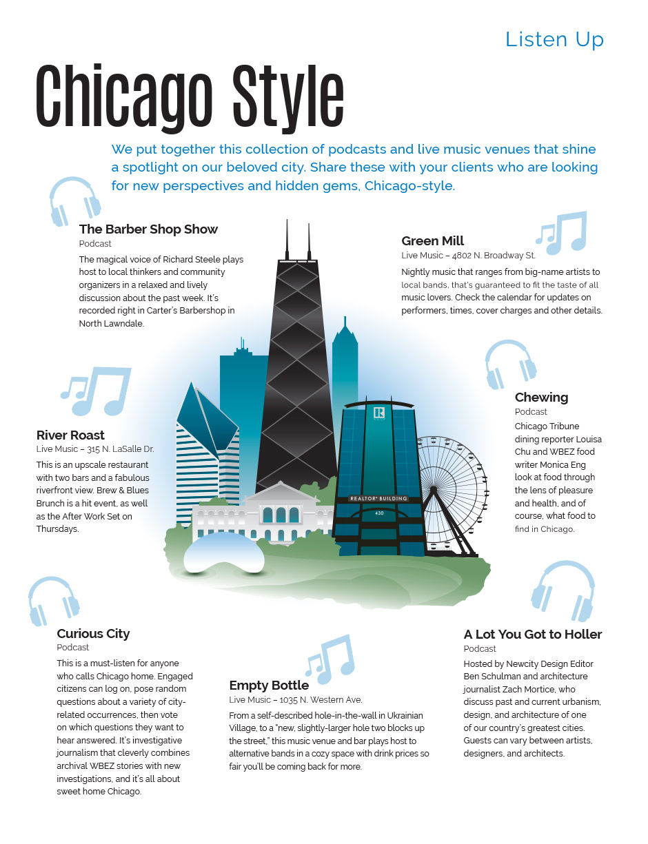 Listen Up: Chicago-Style | Chicago Association of REALTORS®
